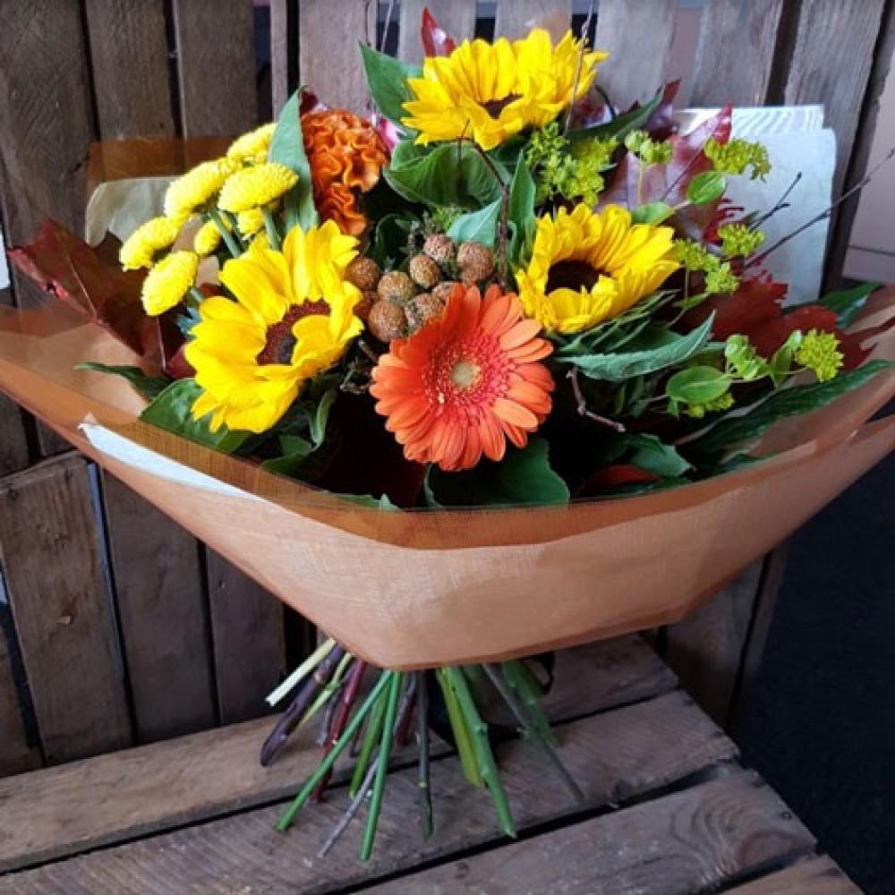Octagon flowers bolton florist in bolton 01204 579109 autumn sunshine izmirmasajfo