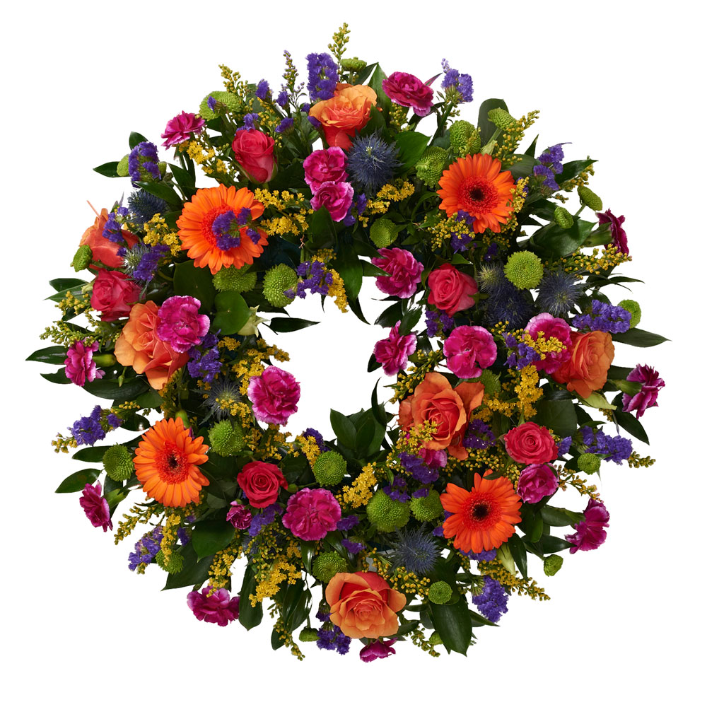 Sympathy Flowers Funeral In Bolton By Octagon Flowers