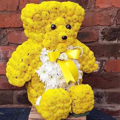 3D Sitting Teddy