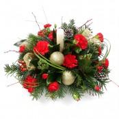 Christmas Candle Decoration